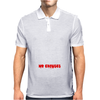 Train Hard No Excuses Mens Polo