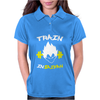 Train Insaiyan DBZ Super Saiyan Gym Exercise Womens Polo