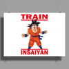 Train Insaiyan - Goku Dragon Ball Super Poster Print (Landscape)