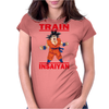 Train Insaiyan - Goku Dragon Ball Super Womens Fitted T-Shirt