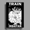 Train Insaiyan - Goku Poster Print (Portrait)