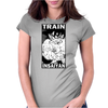 Train Insaiyan - Goku Womens Fitted T-Shirt