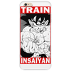 Train insaiyan - Son Goku v2 Phone Case