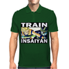 Train insaiyan - Son Goku vs Cell Mens Polo