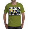 Train insaiyan - Son Goku vs Cell Mens T-Shirt