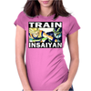 Train insaiyan - Son Goku vs Cell Womens Fitted T-Shirt