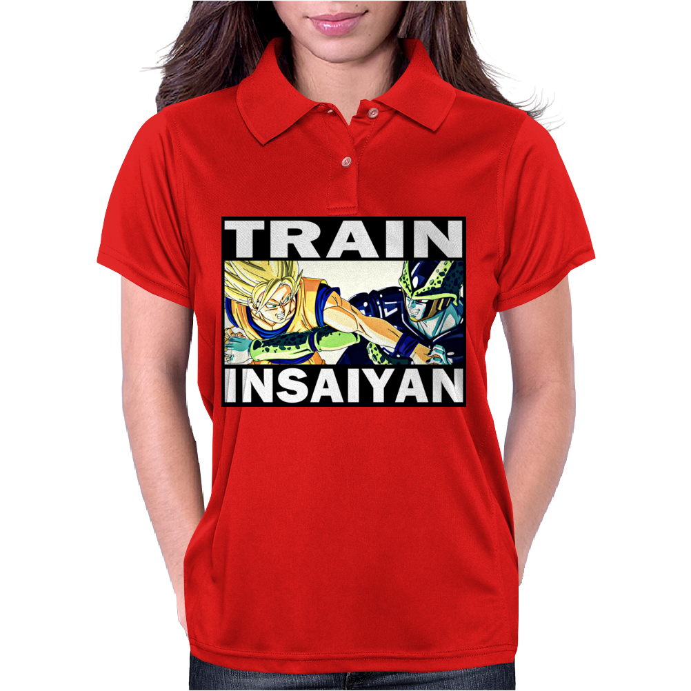 Train insaiyan - Son Goku vs Cell Womens Polo