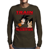 Train insaiyan - Vegeta vs Son Goku Mens Long Sleeve T-Shirt