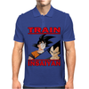 Train insaiyan - Vegeta vs Son Goku Mens Polo