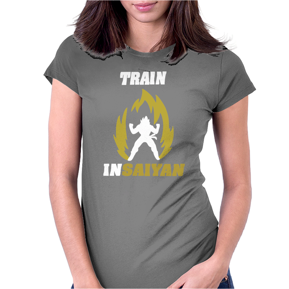 Train Womens Fitted T-Shirt