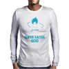 Training to go Super Saiyan GOD DBZ Dragon Ball Z Mens Long Sleeve T-Shirt