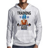 Training to go super saiyan god Mens Hoodie