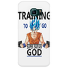 Training to go super saiyan god Phone Case