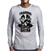 Training to go super saiyan v2 Mens Long Sleeve T-Shirt