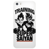 Training to go super saiyan v2 Phone Case