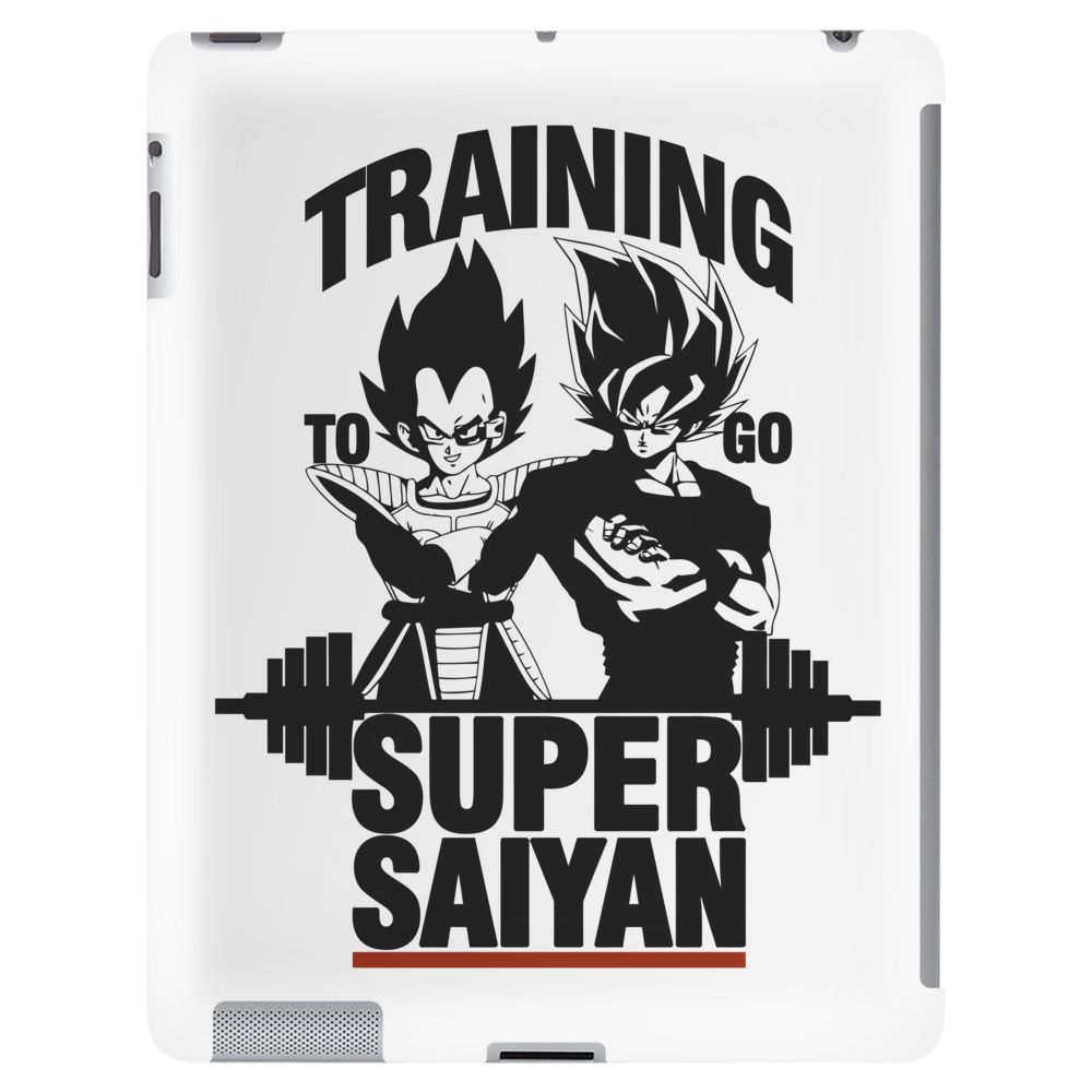 Training to go super saiyan v2 Tablet
