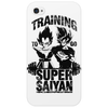 Training to go super saiyan v3 Phone Case