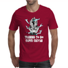 Training to go super saiyan vegeta Mens T-Shirt