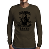 Training to go super saiyan (vintage) Mens Long Sleeve T-Shirt