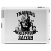 Training to go super saiyan (vintage) Tablet