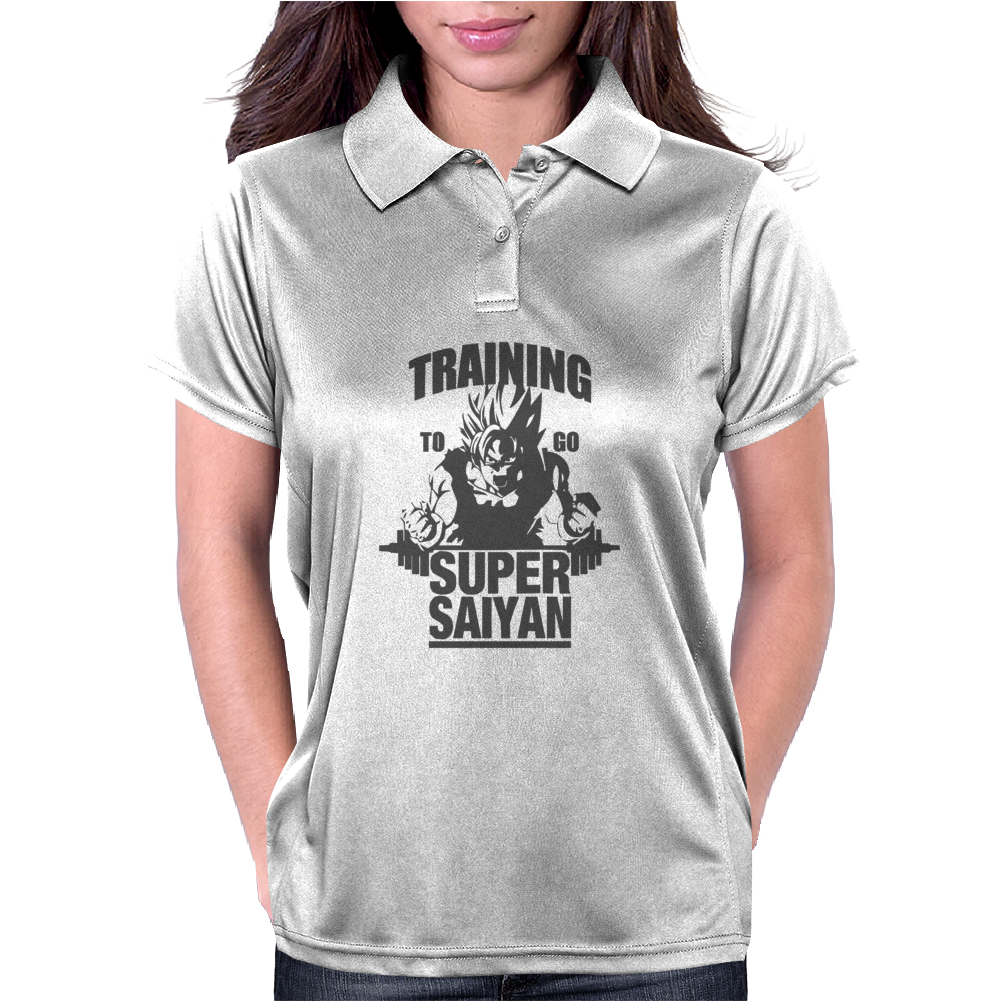 Training To Go Super Saiyan Womens Polo