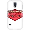 trans global apocalypse (red) Phone Case