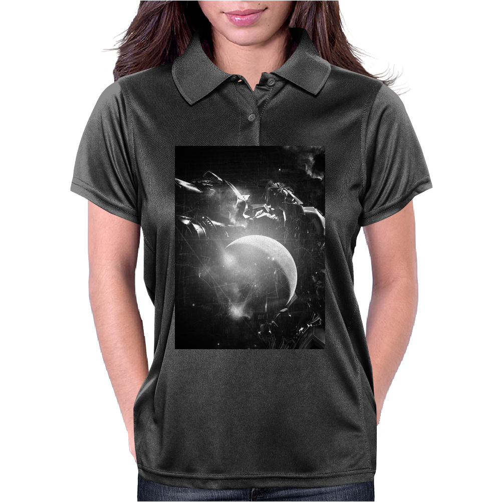 Transformers, Beetle, Iridescent Womens Polo