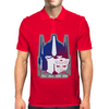 Transformers Optimus prime head. Mens Polo