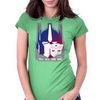Transformers Optimus prime head. Womens Fitted T-Shirt