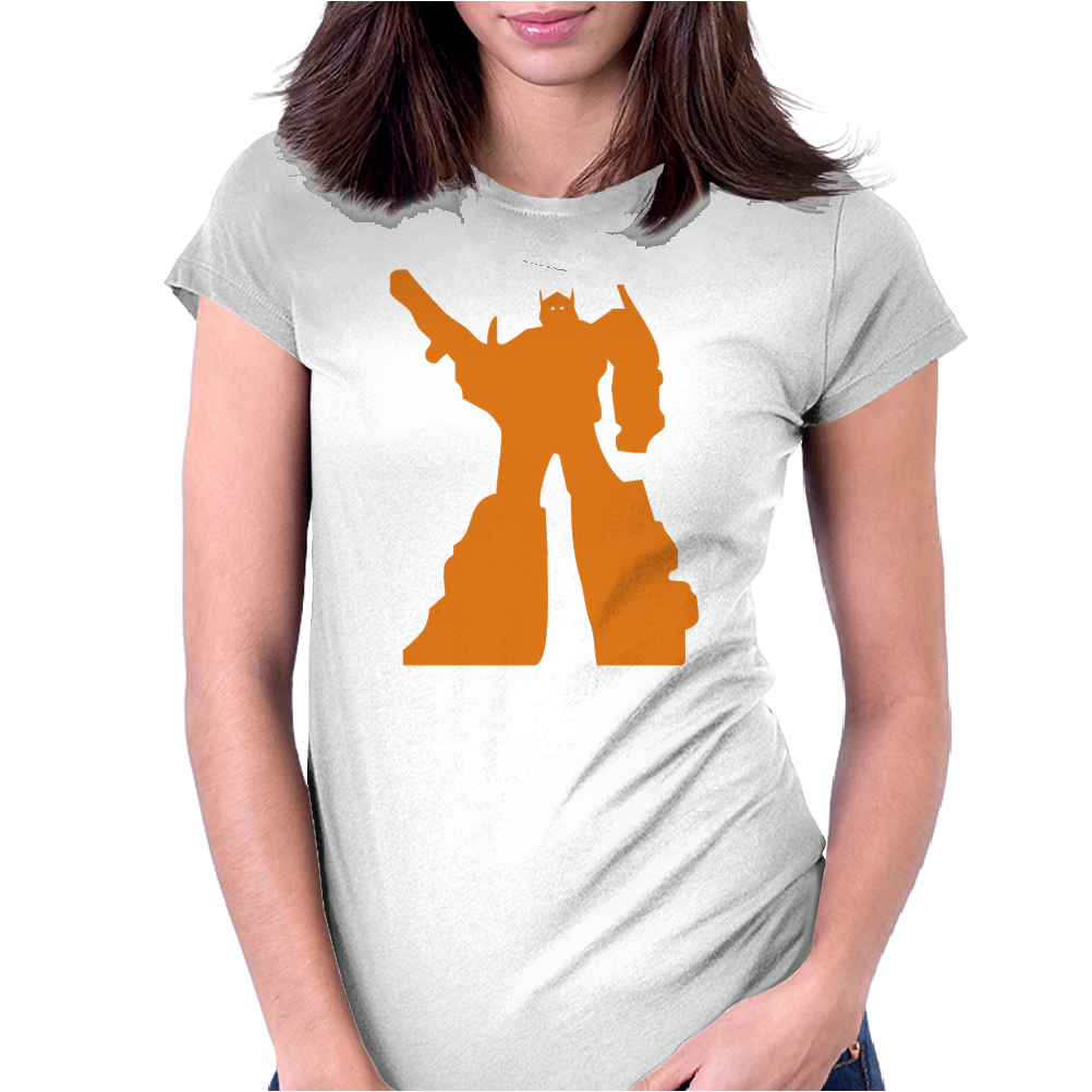Transformers Optimus Prime Womens Fitted T-Shirt