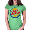 TRAP QUEEN Womens Fitted T-Shirt