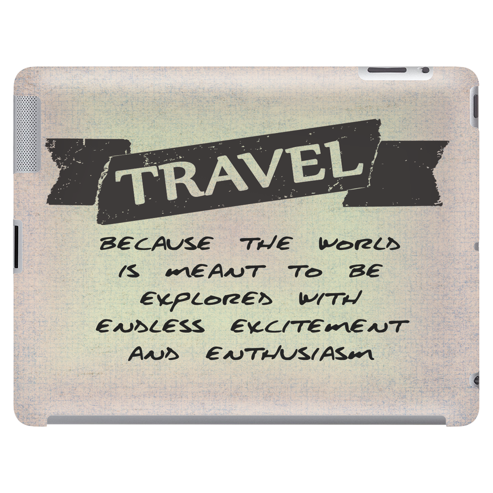 Travel Quote Tablet (horizontal)