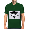 Tree and Birds Mens Polo