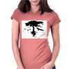 Tree and Birds Womens Fitted T-Shirt