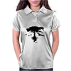 Tree and Birds Womens Polo