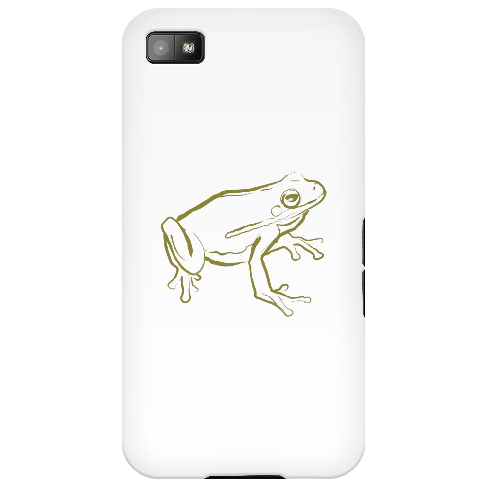 Tree Frog art green Phone Case