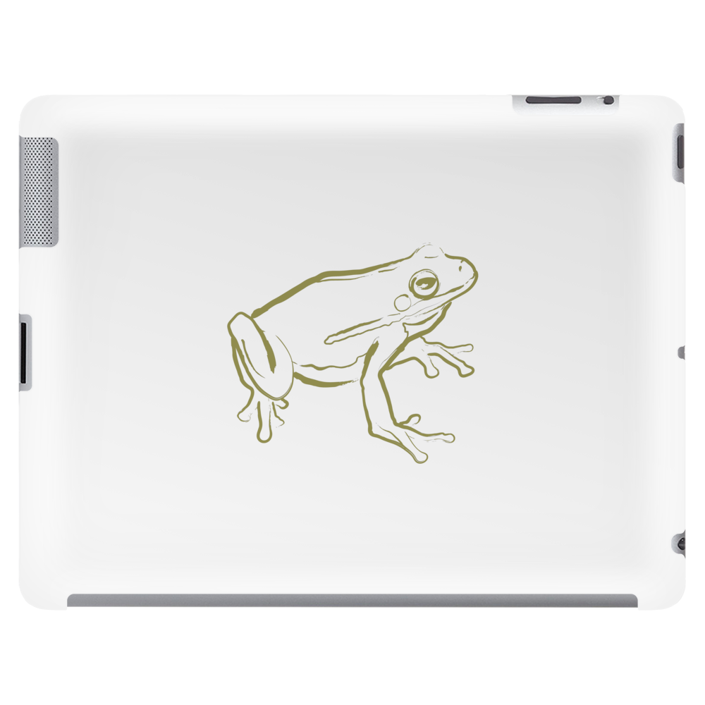 Tree Frog art green Tablet