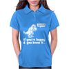 Trex If You're Happy And You Know It Womens Polo