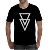Triangle Graphic Hipster Mens T-Shirt