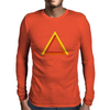 Triangles Mens Long Sleeve T-Shirt