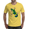 Tribal Gecko Lizard Mens T-Shirt