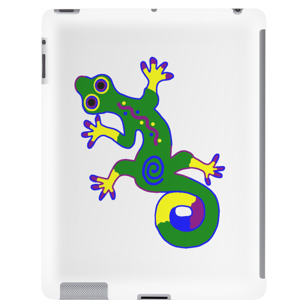 Tribal Gecko Lizard Tablet