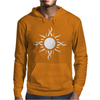 Tribal Sun Tattoo Mens Hoodie