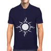 Tribal Sun Tattoo Mens Polo