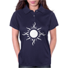 Tribal Sun Tattoo Womens Polo