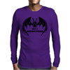 Tribal Vampire Bat Mens Long Sleeve T-Shirt