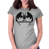 Tribal Vampire Bat Womens Fitted T-Shirt