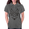 Tribal Wolf Womens Polo