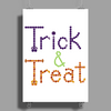 Trick and Treat Poster Print (Portrait)