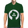 Triforce Fist Zelda Video Game Ringer Mens Polo